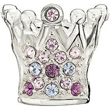 Chamilia Crystal Crown Purple Swarovski  2083-0397  NEW Authentic