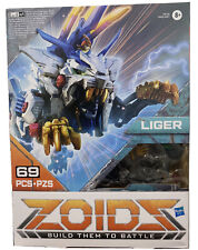 Zoids Hasbro Giga Battlers Liger -Lion-Type Buildable Figure w/ Motorized Motion