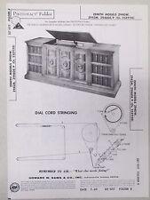 Vintage Sams Photofact Folder Radio Parts Manual Zenith Z940W Z942M Z946DE/P