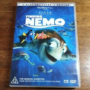 Finding Nemo DVD R4 LIKE NEW FREE POST
