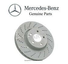 Mercedes W204 W207 W212 Front Vented & Cross Drilled Disc Brake Rotor Genuine