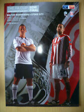 Stoke City FA Cup Final Football Programmes