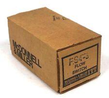 NEW MCDONNELL & MILLER FS4-3 LIQUID FLOW SWITCH FS43