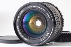[Exc5] MD W Rokkor 24mm f2.8 MF Wide Angle Prime Lens JAPAN#A014