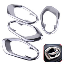 4x Door Handle Interior Bowl Trim Cover Sticker Fit For Jeep Cherokee 2014-2017