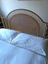 Fantastic cane Rattan Bamboo Wicker Bed head Headboard RETRO Double