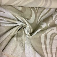 SUPER LUXURIOUS CREAM CHENILLE UPHOLSTERY FABRIC 4 METRES