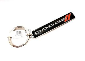 Dodge 3D Metal Nameplate Keychain Keyring New with Tag