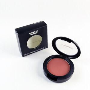 Mac Powder Blush SWISS CHOCOLATE - Full Size 6 g / 0.21 Oz. - Brand New