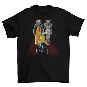 Pennywise IT T-Shirt Unisex Funny Hiya Georgie Cotton Adult Clown Stephen King