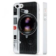 Vintage Leica Cámara Fotografía Funda de teléfono blanco encaja iPHONE