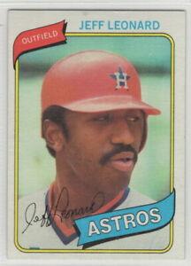 1980 Topps Baseball Houston Astros Team Set
