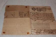 ASSURANCE MARITIME  D UN NARIVE A MARSEILLE EN 1788