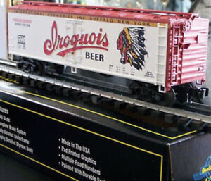 ✅WEAVER BUFFALO NEW YORK IROQUOIS BEER 40' WOOD SIDE REEFER CAR LIONEL COUPLERS