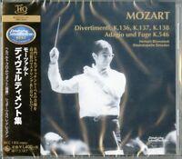 HERBERT BLOMSTEDT / STAATSKAPELLE DRESDEN-MOZART: 4 DIVERTIMENTI-JAPAN HQCD C68