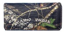 Official Womens Western Wallet Zipper Pocket Mossy Oak Camo Tri Fold Wallet BT-2