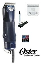 PET DOG CAT HORSE Grooming Oster TURBO A5 1 Speed Clipper & 10 CRYOGENX blade