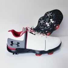 Under Armour UA Spieth One JR Boys Golf Shoes 1301154-108 Size 6.5Y White Gray
