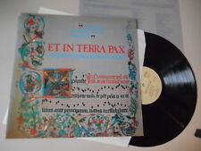 LP Klassik Ensemble f Frühe Musik Augsburg - Et In Terra Pax (17 Song) PRIVAT PR