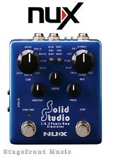 NUX Verdugo Series Solid Studio IR & Power Amp Simulator World Class **