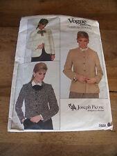 """VINTAGE  """"VOGUE CREATION JOSEPH PICONE 3 VESTE    T  12"""
