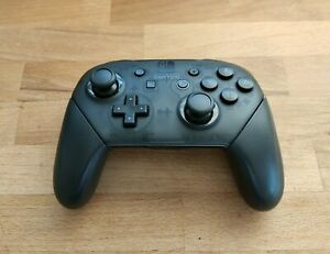 Genuine Official Nintendo Switch Pro Controller (HAC-013) - Black