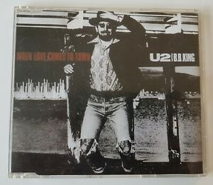 U2 When love comes to town cd maxi single 4 titres 1989 europe