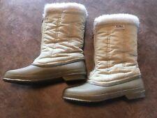 Womens Sorel Winter Boots tan Sz 7 55% wool 45%acetate