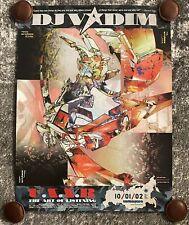 DJ Vadim - U.S.S.R. - The Art Of Listening - Poster - Vintage - New
