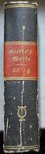 Originale deutsche antiquarische Bücher mit Belletristik-Genre von 1800-1849