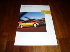 Opel Astra Coupe Prospekt 08/2002
