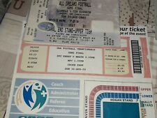 Various GAA match tickets
