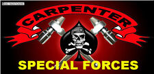 HARD HAT STICKERS, SPECIAL FORCES, CONSTRUCTION CARPENTER STICKERS  CC-20