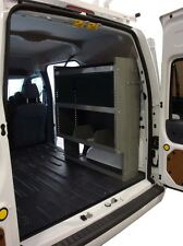 "Van Shelving Storage - Space Saver designed to fit Nissan NV200 - 32""L x 44""H"