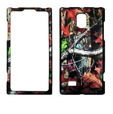 Duck Blind CamoReal Tree  LG Spectrum 2 VS930  Rubberized  Case Cover