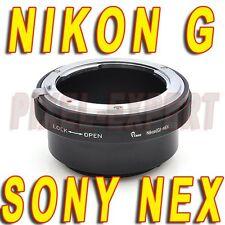 ADATTATORE NIKON G SONY NEX OTTICA NIKKOR AF AF-S NEX-7 NEX-5 NEX-3 ANELLO RING