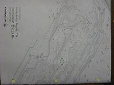 Motorola Manual SPECTRA Astro Spectra Installation #68P81070C85