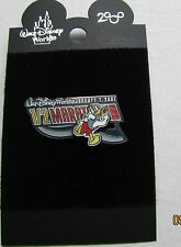 Disney Half Marathon Slider Donald Duck Pin