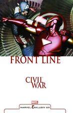 Marvel exclusif # 69 HC: civil était Front Line (allemand) Lim. reliés