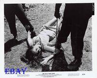 Busty leggy Babe Girl On A Chain Gang VINTAGE Photo