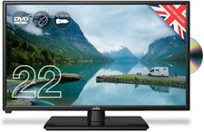 "Cello ZRTMF0222 12 volt 22"" Traveller Caravan TV Freeview HD DVD & Miracast [Ene"