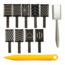 11pcs/set Nail Art Tool Magnet Pen for DIY Magic 3D Magnetic Cats Eyes G6P2