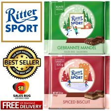 Ritter Sport Chocolate - Winter Edition - All Flavours 100g Christmas Gift