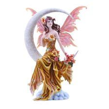 New NENE THOMAS Fairy Figurine EARTH MOON Fantasy Winged Fairie Statue Flower
