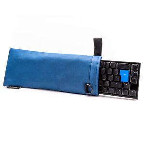 Protective Storage Case Soft Bag Sleeve Blue For 60%-65% Mechanical Keyboards UK