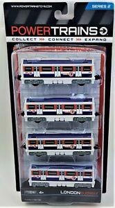 Power Trains London Subway SR2 JAKKS Railroad Car Toy Figures