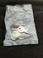 NEW Set 10 Vintage Brass ILCO No L1122AR Key Blanks Old YALE Locks Padlocks