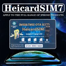 2019 HEICARD Unlock SIM Card Turbo ICCID Nano SIM for iPhone XS X 8 7 4G iOS12.0