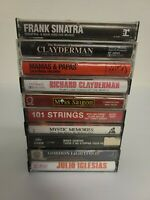 Lot of 10 Vintage Music Cassette Tapes Fully Tested And All Play 100% - 101