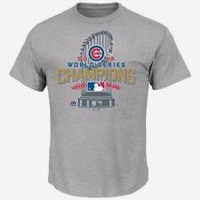 Chicago Cubs 2016 World Series Champions Locker Room T-Shirt Men's XL Tee, NWT!